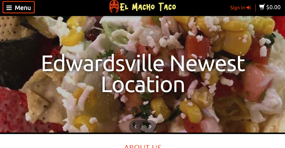 El Macho Taco, Edwardsville, Illinois