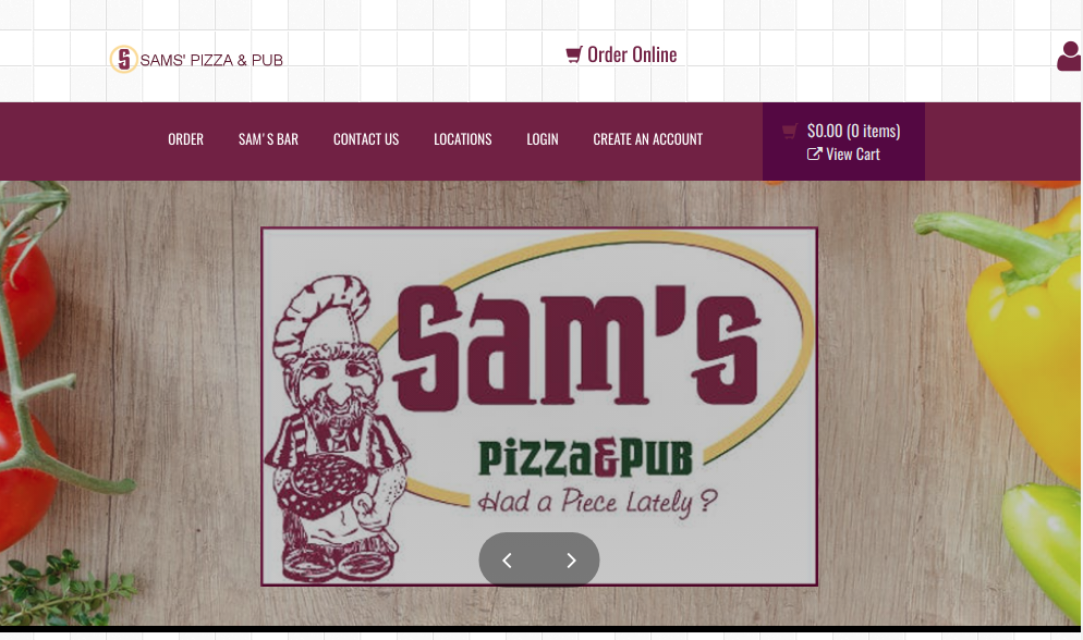 Sam's Pizza and Pub, Highland and Breese, Illinois